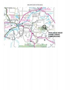 Highwoods MTB Loop- HIghway Directions